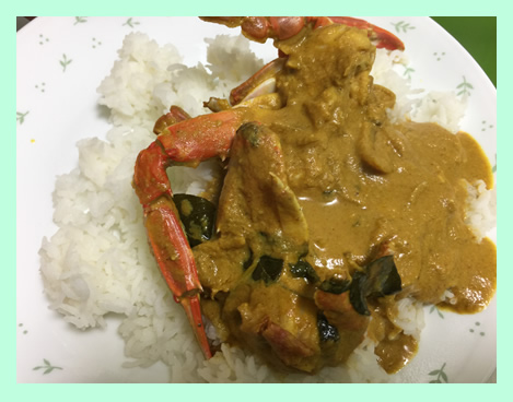 Photos of crab dishes authentic and traditional south indian recipes crab curry with rice forumfinder Image collections